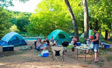 Arcadia Valley Spring Mountain Music Festival Missouri Camping