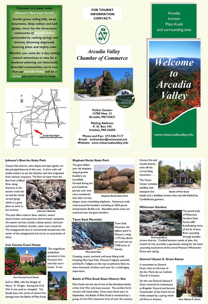 Chamber of Commerce Arcadia Valley